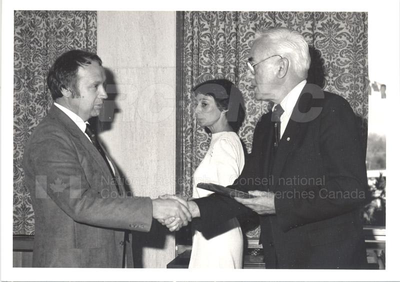 25 Year Service Presentations Nov. 1985 013