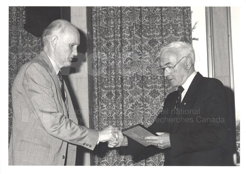 25 Year Service Presentations Nov. 1985 011
