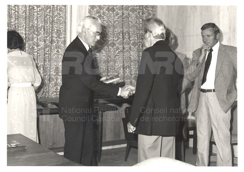25 Year Service Plaques Presentations 1984 041