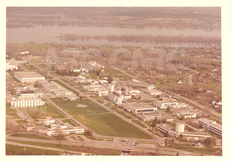 Montreal Road Campus Aerial View 1960's 003