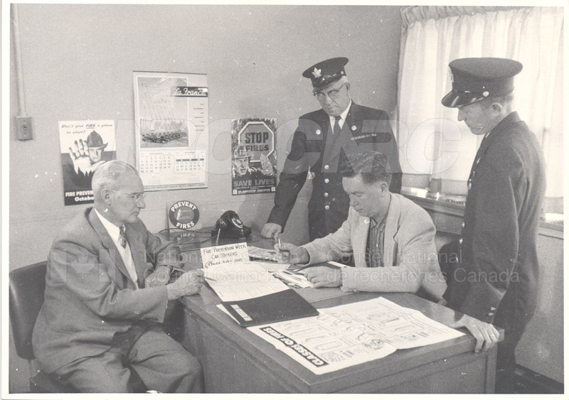 Fire Prevention Section Activities (Mr. Luke) 1950s+60s 009