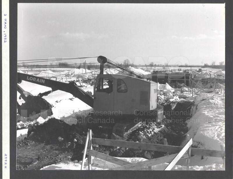 Construction of M-50 Jan. 3 1952 #2992 008