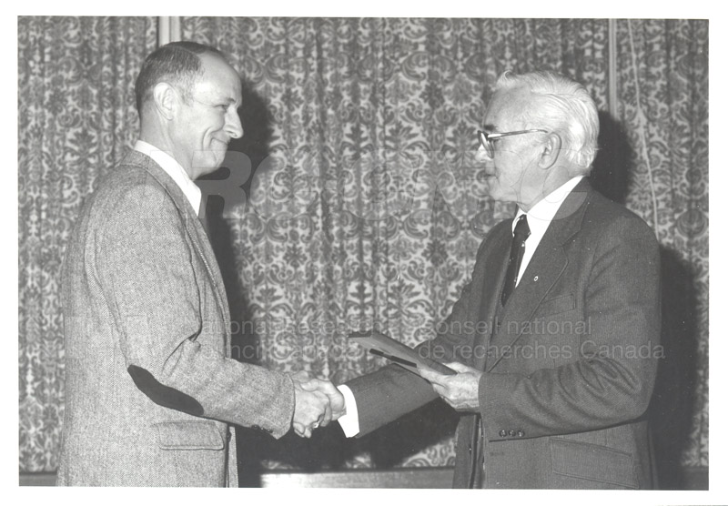 25 Year Service Plaques Presentations 1981 021