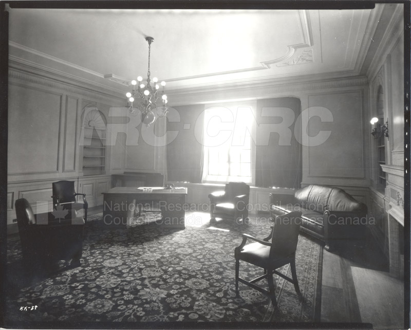100 Sussex Drive- Office of the President Room 1017 (KK-38) July 1932