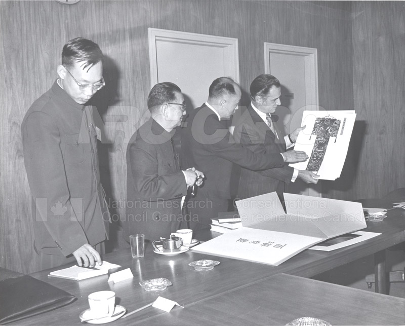 Prof. Pei Shih-Chang (China) Nov. 1972 003
