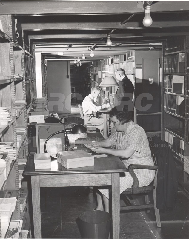 National Science Library- Technical Information Service (NRC Archives) 001
