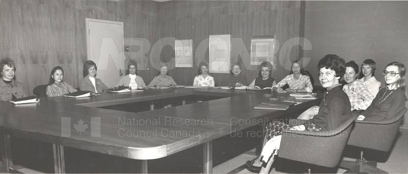 NRC Status of Women Committee c.1974