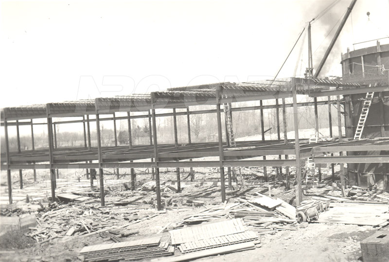 Administration and Wind Tunnels Construction 1940 021