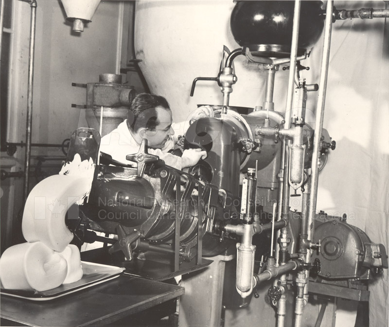 German Butter Making Machine c.1946 002
