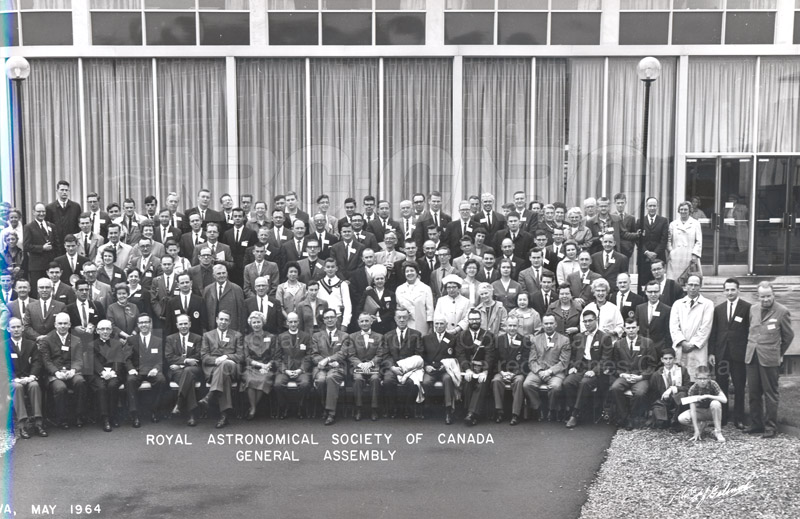 Royal Astronomical Society of Canada General Assembly- Ottawa May 1964 pt.2