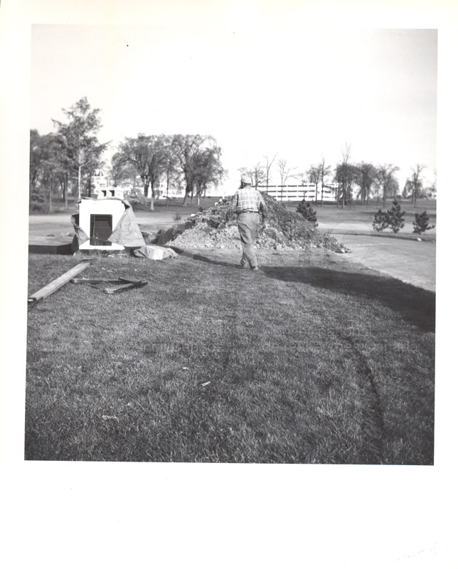 Administration Building Construction 1950s 002