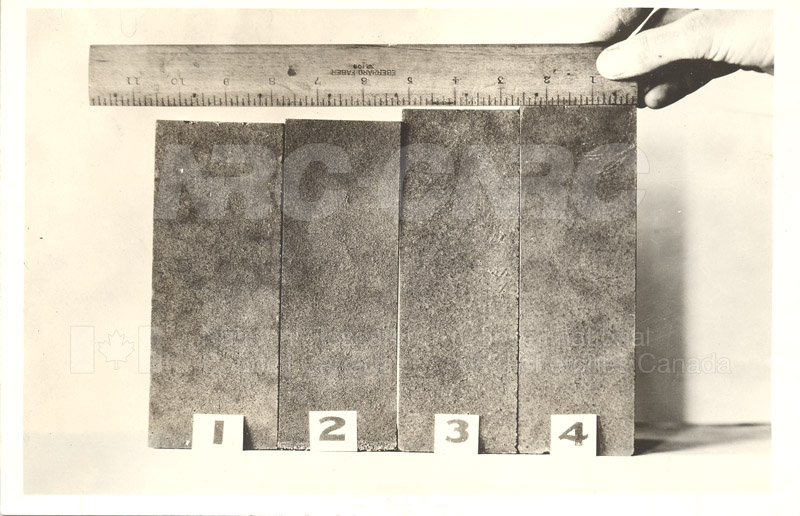 Brick Showing Effect of 4% Chrome- F.E. Lathe's Paper, Dec. 1933
