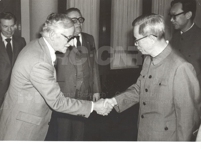 NRC Delegates meeting with Mr. Fang in the Great Hall of the People, China Oct. 13, 1983 003