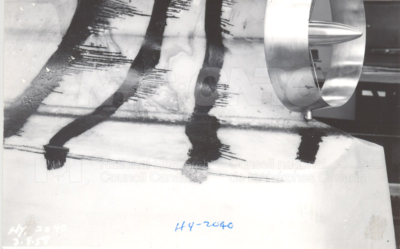 Model 149A Nozzle with Pilot Tubes HY2040, August 3 1958