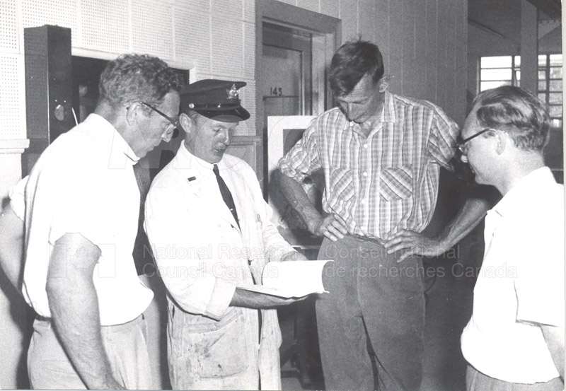 Fire Prevention Section Activities (Mr. Luke) 1950s+60s 006