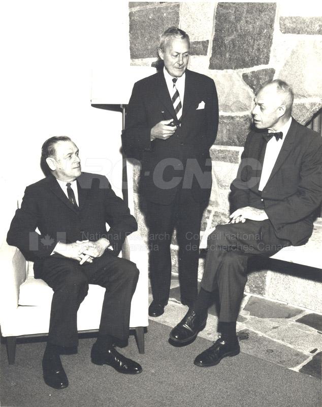 Canadian Patents & Development LMT Board of Directors June 1967, Jan. 1968 001
