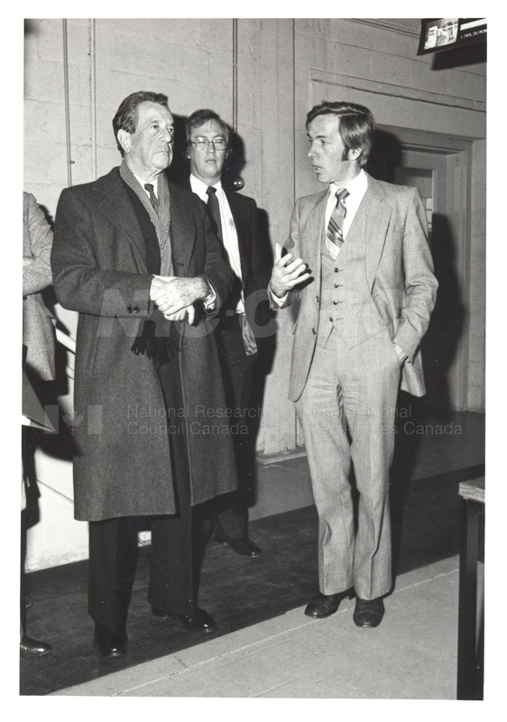 Corporate Services- Visit of French Ambassador Touring Hydraulics Lab 1981 011