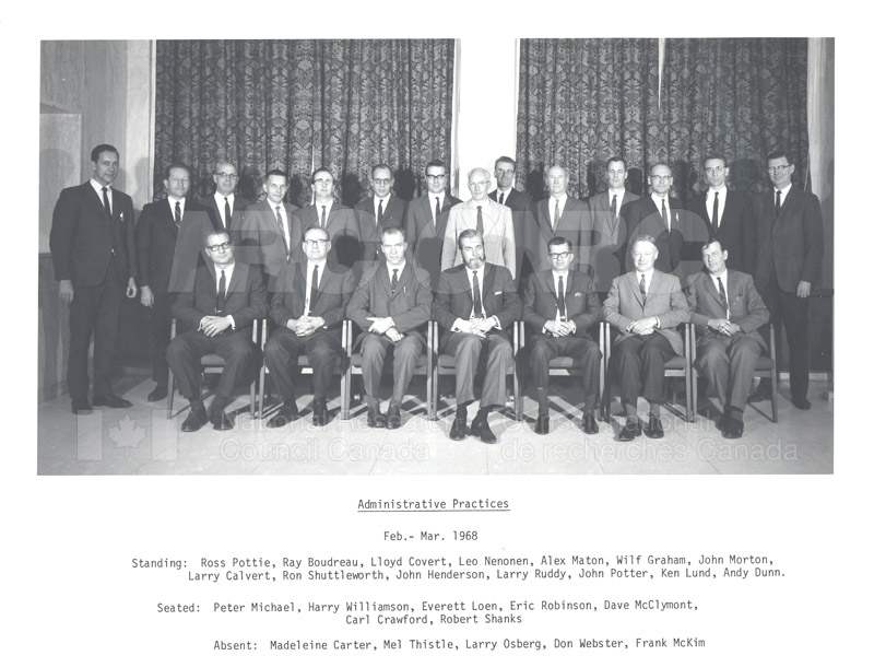 Meeting- Administrative Practices Feb.-March 1968