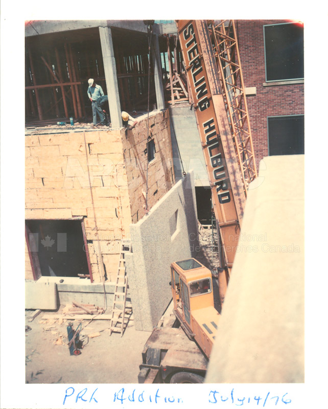 Building the Addition 1976 007