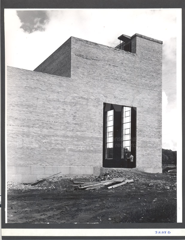 Administration Building Construction 1950s 025