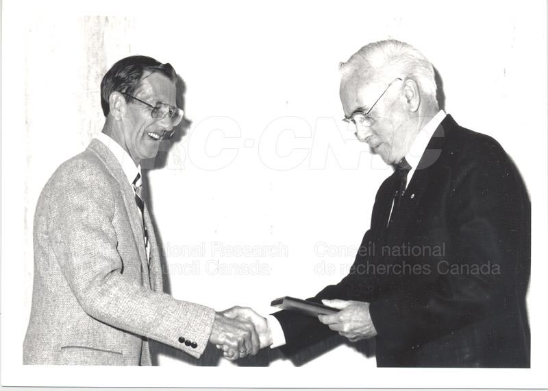 25 Year Service Presentations June 8, 1988 022