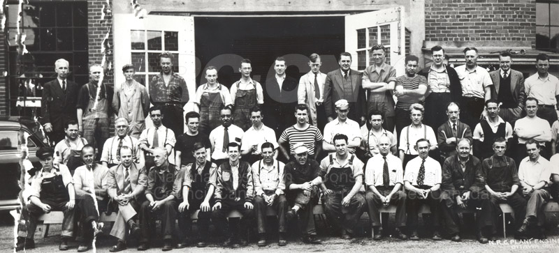 Group Portrait- Plant Engineering Group 1951 pt1