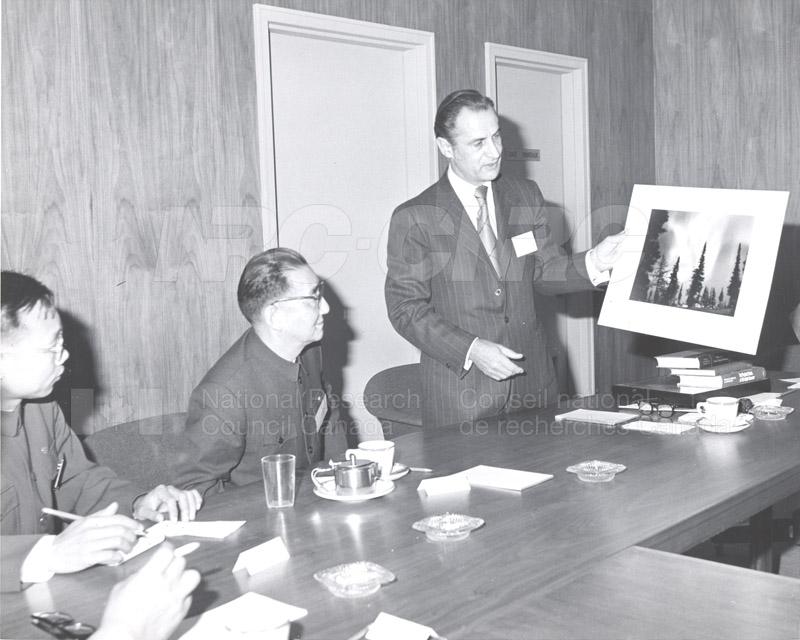 Prof. Pei Shih-Chang (China) Nov. 1972 002