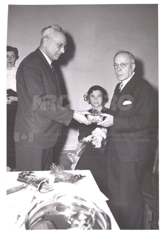 Ernie Hodgson Retirement c.1953 006