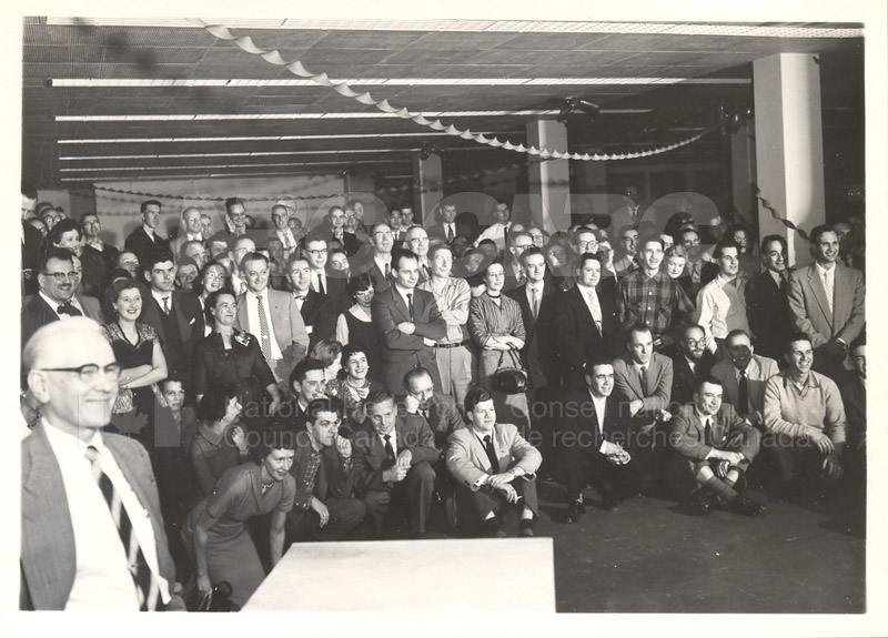 Radio Christmas Party December 23 1957 001
