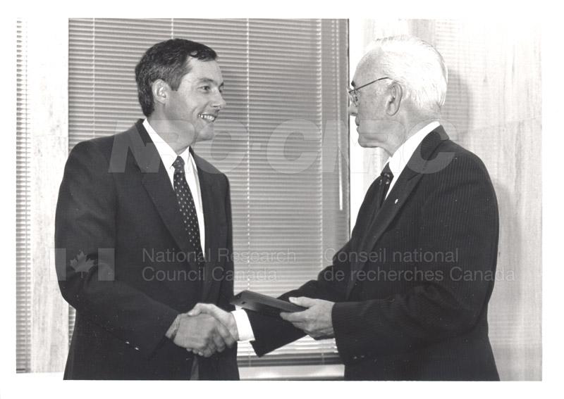 25 Year Service Presentation Sept. 12 1989 009
