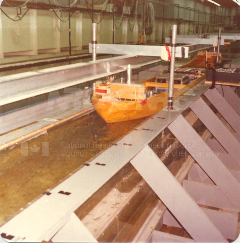 Lock Model Study 1986 046