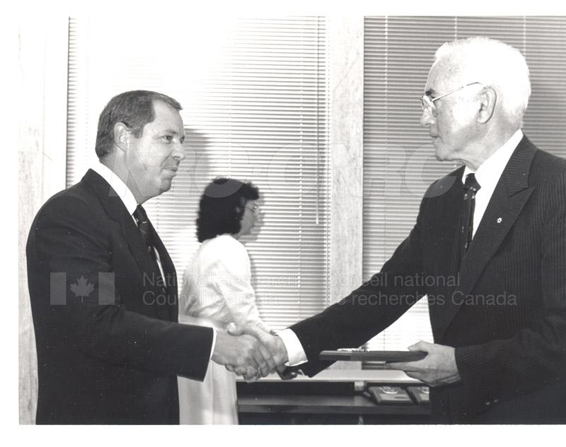 25 Year Service Presentation Sept. 12 1989 012
