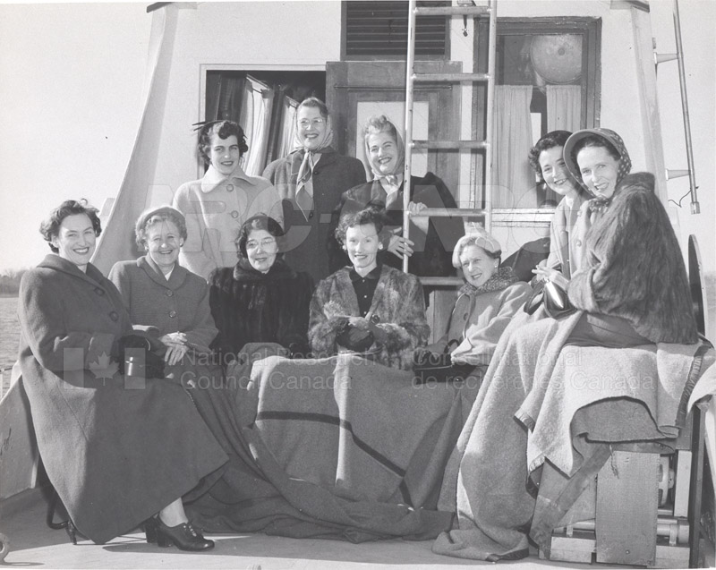 Visit of Dr. and Mrs. Ryder to NRC 1955 002