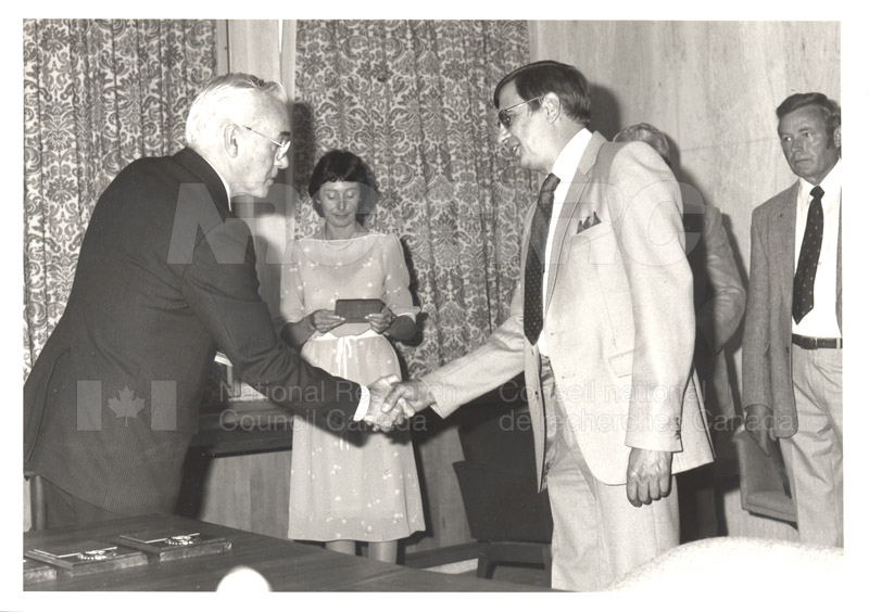 25 Year Service Plaques Presentations 1984 038