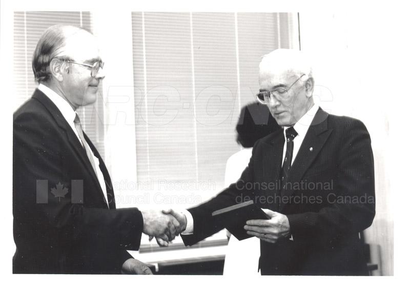 25 Year Service Presentation Sept. 12 1989 014