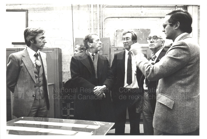 Corporate Services- Visit of French Ambassador Touring Hydraulics Lab 1981 009