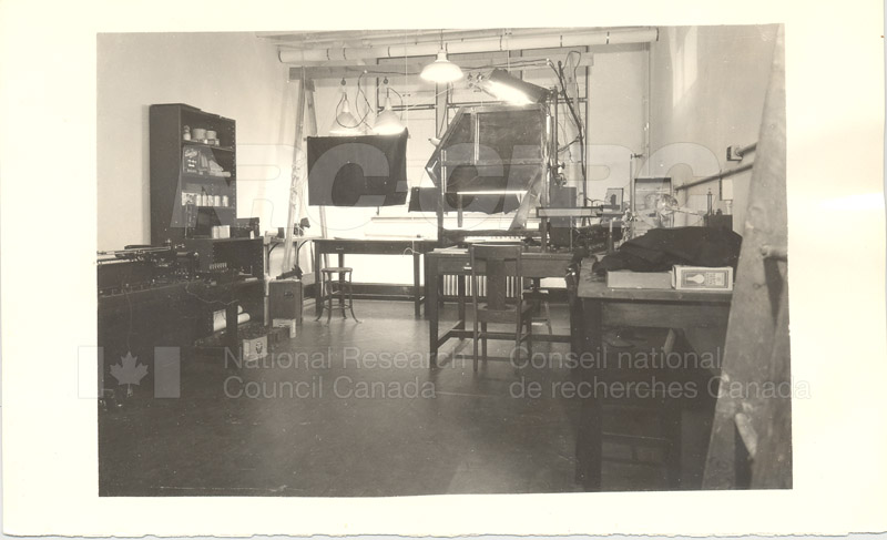 Grading Wheat by Artificial Light- John St. Lab c.1935