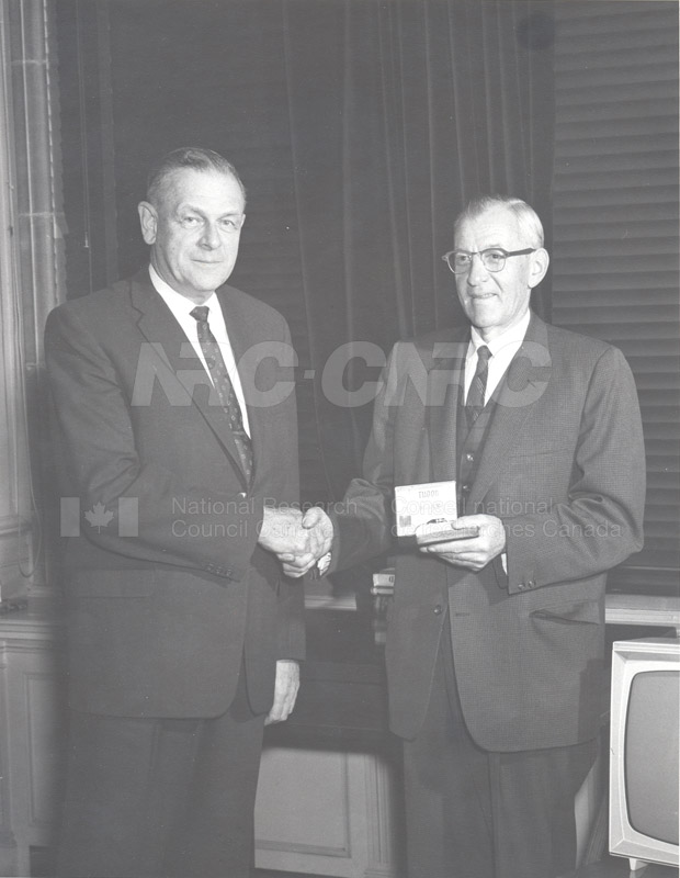 Retirement- Mr. Biggar (Head General Services) 1965 001