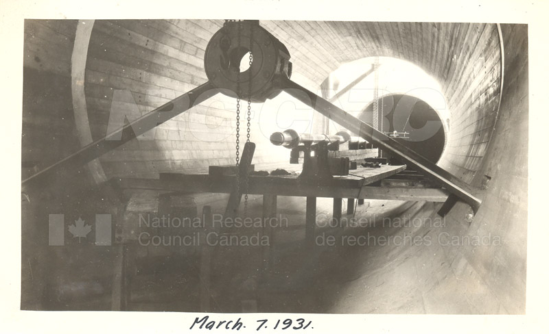 Sussex St. and John St. Labs- Album 3-Wind Tunnel Book 2 March 7 1931 003