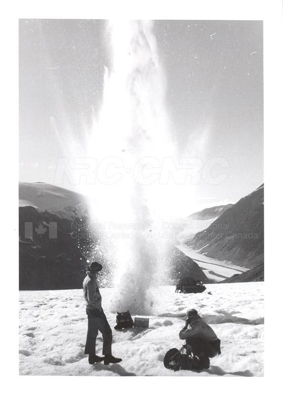 Salmon River Glacier B.C. U. of T. Glaciology 001
