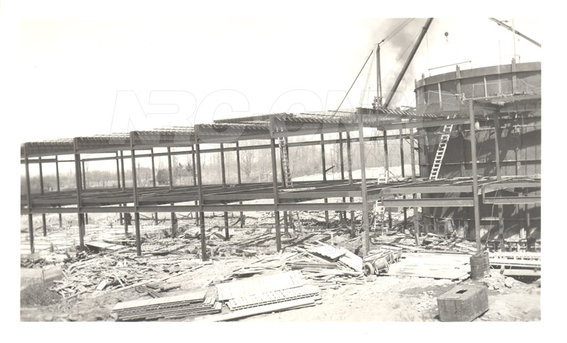 Administration and Wind Tunnels Construction 1940 016