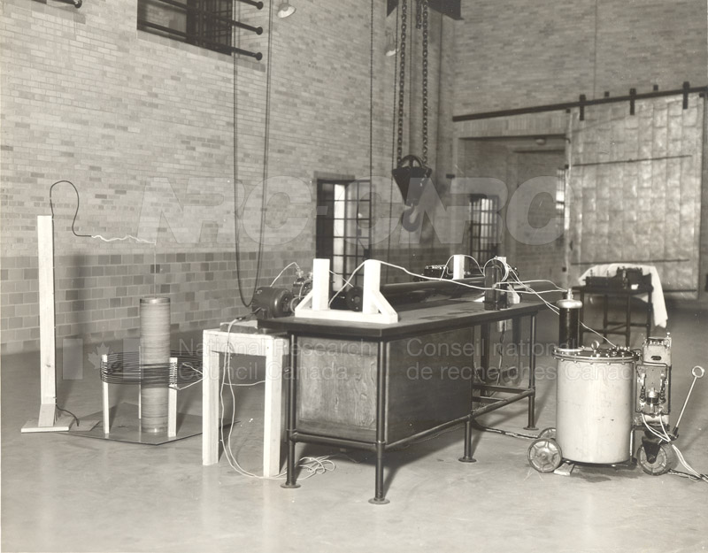 Test Coil Assembly- Electrical Engineering Laboratory Sussex KK-55 c.1935