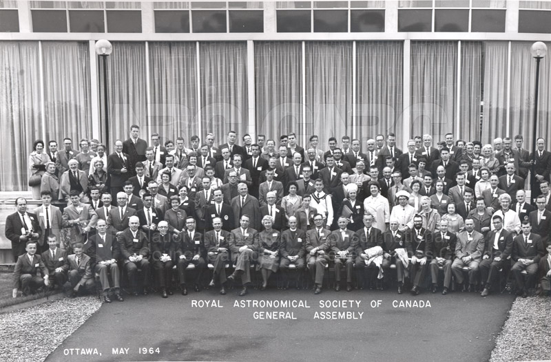 Royal Astronomical Society of Canada General Assembly- Ottawa May 1964 pt.1