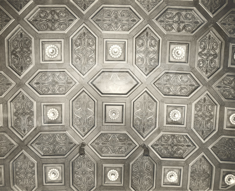 Auditorium- Ceiling Moulding (KK-19) c.1932