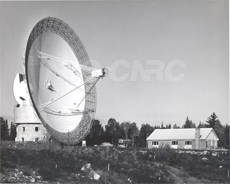 Algonquin Observatory- 150 ft. Radio Telescope and Laboratories Oct. 14 1966