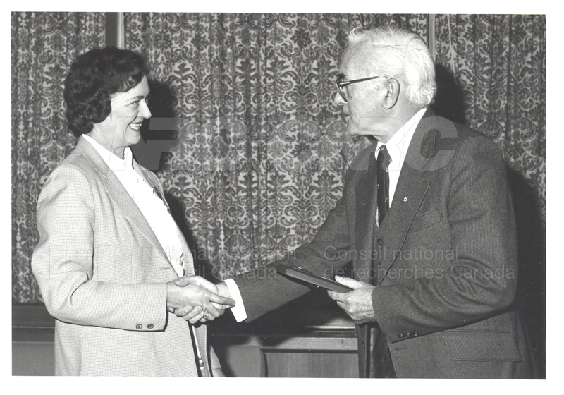 25 Year Service Plaques Presentations 1981 010