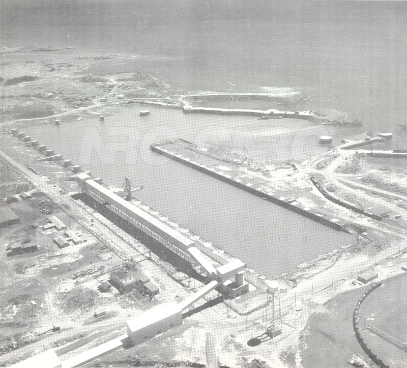 Hydraulics Lab-Port Cartier Quebec Study 1959 013