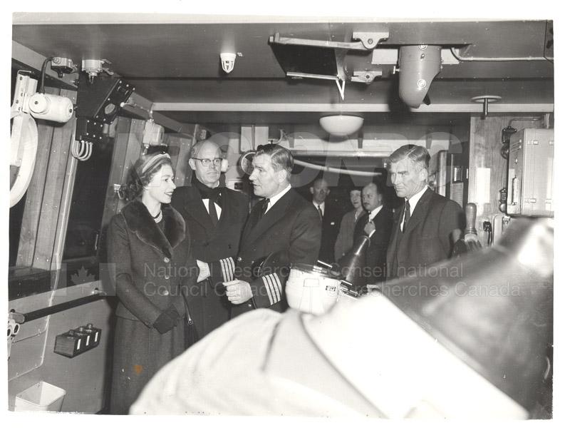 Queen Elizabeth Antarctica Nov. 1956