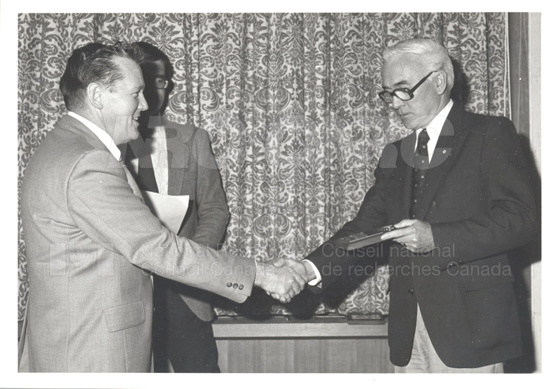 25 Year Service Plaques Presentations 1981 034