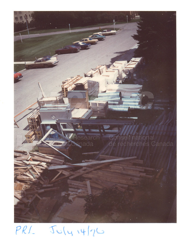 Building the Addition 1976 002